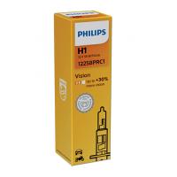 Philips H1 Vision +30% auto spuldze 12258PRC1 1 gab.