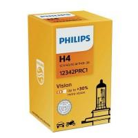 Philips H4 Vision +30% auto spuldze P43t-38 12342PRC1 1 gab.