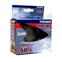 Tungsram H4 Sportlight BLUish +50% P43t Halogena auto spuldzes 60/55W 53800NHSU 2 gab.