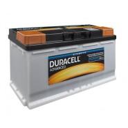 Duracell Advanced 12V 100Ah 800A SLI auto akumulators AK-DU-DA100