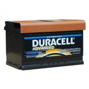 Duracell Advanced 12V 72Ah 660A SLI auto akumulators AK-DU-DA72