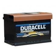 Duracell Advanced 12V 74Ah 680A SLI auto akumulators AK-DU-DA74
