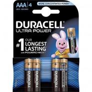 Duracell AAA / LR03 / MN2400 Turbo Max 1.5V Alkaline batteries, 4 pc.