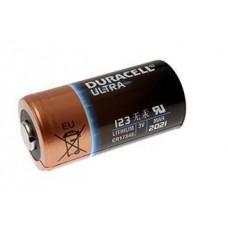 Duracell Industrial 123 CR17345 / DL123A / CR123A / EL123A 1470mAh 3V Lithium (made in USA, exp. 03.2027) 1 gab.
