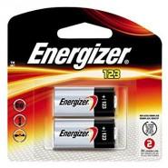 Energizer 123 DL123A/CR123A/EL123A 3V 1500mAh litija baterijas 2 gab.
