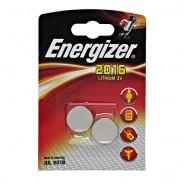 Energizer 2016 / CR2016 3V 100mAh litija baterijas 2 gab.