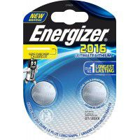 Energizer CR2016 / DL2016 3V 90mAh Ultimate Lithium baterijas 2 gab.