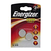 Energizer 2025 / CR2025 3V 163mAh litija baterijas 2 gab.