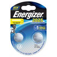 Energizer CR2025 / DL2025 3V 170mAh Ultimate Lithium baterijas 2 gab.
