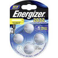 Energizer CR2032 / DL2032 3V 235mAh Ultimate Lithium baterijas 4 gab.