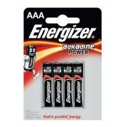 Energizer Alkaline Power AAA / LR03 / MN2400 1.5V batteries, 4 pc.