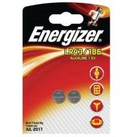 Energizer LR43 / 186 / KA43 1.5V 123mAh Alkaline baterija 2 gab. (04.2020.)