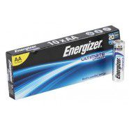 Energizer Ultimate Lithium AA / LR6 / FR6 1.5V litija baterijas 10 gab.