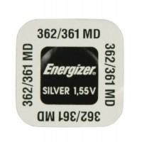 Energizer 362 / 361 / SR721SW / SR58 / SR721W / AG11 1.55V 27mAh 0% Hg Silver oxide baterija
