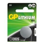GP Super 2025 / CR2025 / DL2025 3V 165mAh Litija baterija, 1 gab.
