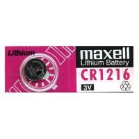 Maxell 1216 /CR1216/ ECR1216 3V 25mAh Litija baterija (ražots Japānā) 1 gab.