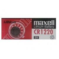 Maxell 1220 DL1220/ CR1220 3V 36mAh Litija baterija (ražots Japānā) 1 gab.