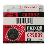 Maxell CR2032 / DL2032/ ECR2032 3V 220mAh Lithium Cell Battery (made in Japan) 1pcs