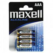 Maxell AAA / LR03 / MN2400 0% Hg Alkaline baterijas 4 gab. Blister