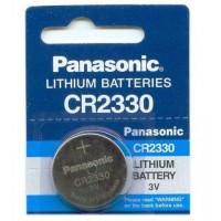 Panasonic CR2330 / DL2330 3V 265mAh 0%Hg litija baterija
