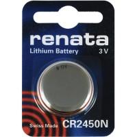 Renata CR2450N 3V 540mAh litija elektronikas (electronics) baterija (ražots Šveicē)