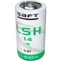 Saft LSH 14 (C) 5.8Ah 3.6V (Li-SoCI2) battery (Non-rechargeable), made in France