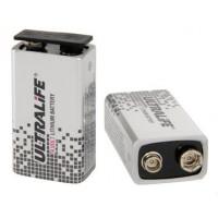 Ultralife 9V (krona, 6LR61, U9VL-J-P) 1200mAh Litija baterija