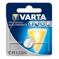 Varta CR1/3N / DL1/3N / 2L76 / P28PXL / CR 11108 / Kodak K58L 3V 170mAh Li-MN elektronikas (electronics) baterija. Ražots Japānā