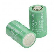 Varta CR 1/2AA 950mAh 3V Non-rechargeable lithium battery, made in Germany