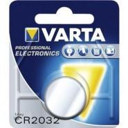 Varta CR2032 3V 230mAh Li-MN elektronikas (electronics) baterija