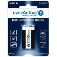 everActive Pro Alkaline 9V 6LR61 550mAh baterija 1 gab.