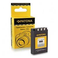 Patona 1029 (LI-10B/ LI-12B) 900mAh 3.7V 3.3Wh Li-Ion akumulators Olympus fotokamerai