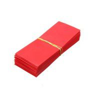 1x 18650 heat shrink wrap battery cover (red)
