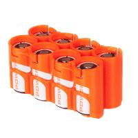 StoraCell 8x123A akumulatoru/ bateriju kastīte (oranža)