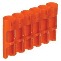 StoraCell 6 x AAA holder for rechargeable batteries / batteries (orange)