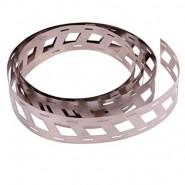 Nickel Welding Strip 25.5mm x 0.15mm (niķeļa metināšanas plāksnīte) akumulatoru paku veidošanai, 1 metrs