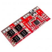 4S 15A 12.6V Lithium Battery Protection PCB aizsardzības shēma 18650 Li-Ion akumulatoriem