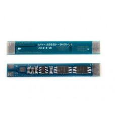 1S PCM / PCB 2MOS - 5530 aizsardzības shēma 3.7V Li-Ion akumulatoriem