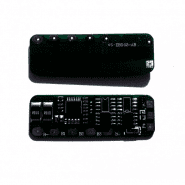 4S PCM / PCB 2MOS EBD02 - AB aizsardzības shēma 3.7V Li-Ion akumulatoriem