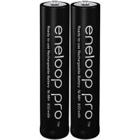 Panasonic Eneloop Pro AAA 950 mAh Ni-MH 1.2V akumulatori lādējamās baterijas BK-4HCCE 03.2017 (Sanyo XX) 2 gab.