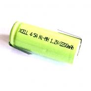 Xcell  4/5 A Ni-MH 2200mAh 1.2V Flat Top akumulators ar Z-tag