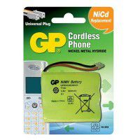 GP Cordless Phone T160 / P501 600mAh 3.6V Ni-MH battery for cordless phone (60AAM3BMU)
