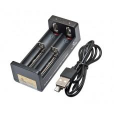 Xtar MC2 Intellicharger divvietīgs Li-Ion akumulatoru lādētājs