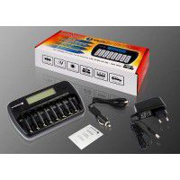 everActive NC-800 8x Ni-MH battery charger
