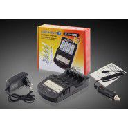 everActive NC 1000 Plus 4-channel smart Ni-MH battery charger
