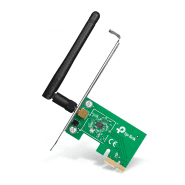TP-Link 150Mbps Wireless N PCI Express Adapter tīkla adapeteris ar 1 antenu TL-WN781ND
