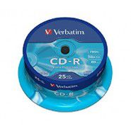 Verbatim CD-R 80/700MB 52x Extra Protection matricas 25 gab.