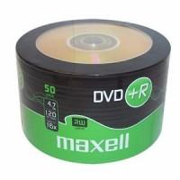 Maxell DVD+R 120min / 4.7GB 16x matrica / disks 50 gab.