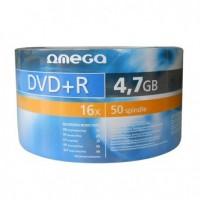 Omega DVD+R 120min / 4.7GB 16x matrica / disks 50 gab.
