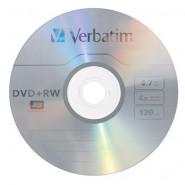 Verbatim DVD+RW 4.7 GB 4x 120min. Matte Silver SERL surface matrica ReWritable 1 gab.